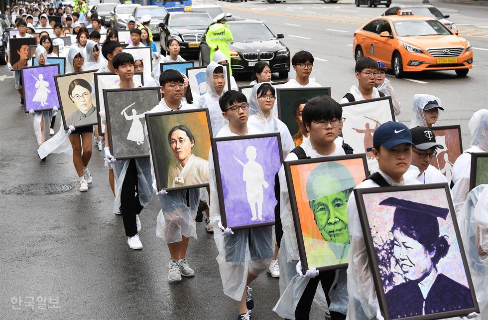 Combatentes Da Independência São Enaltecidas Na Coreia