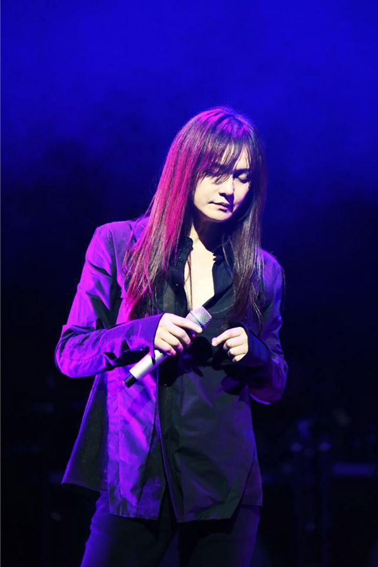 Korean rock star Kim Kyung-ho, Courtesy of Lee Hwang agency.