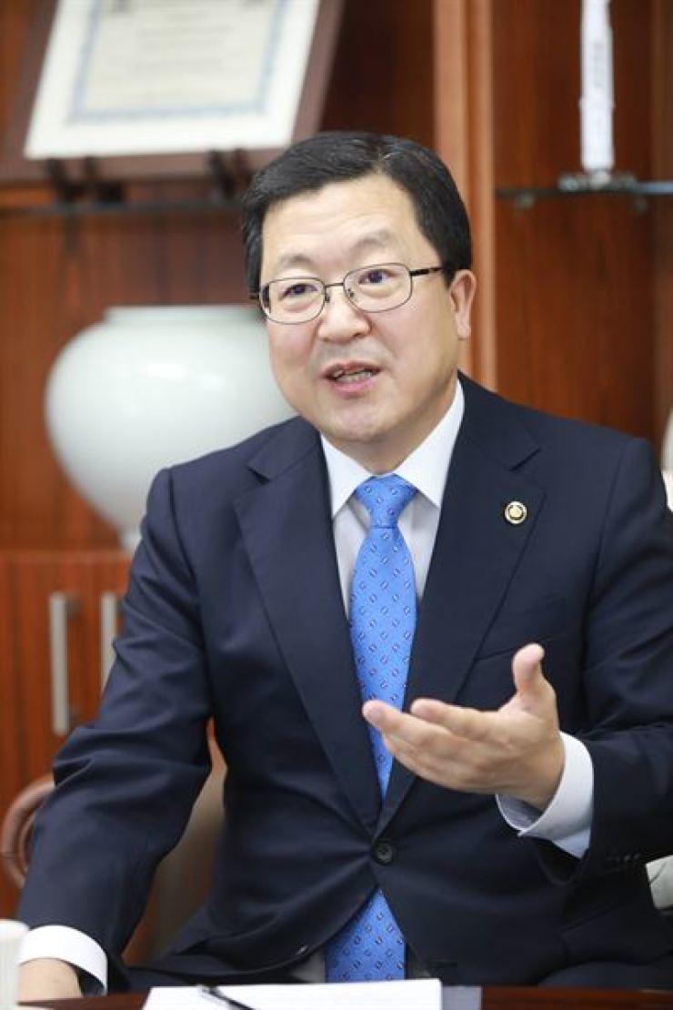 Park Chun-sup, Public Procurement Service Administrator