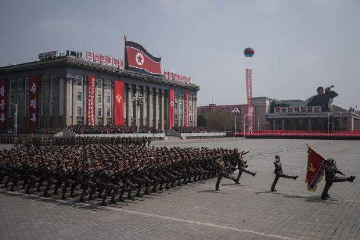 Kim Il-sung Square in Pyongyang. Yonhap