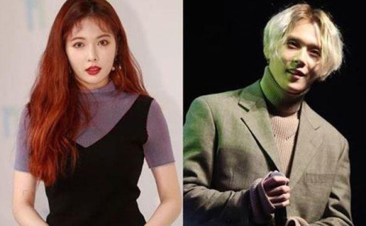 Psy hyuna dating