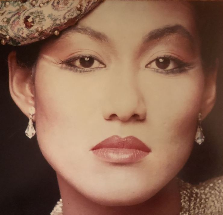 Deborah Chai Garris, a half-Korean, half-black model, walked the runway for over 70 luxury fashion houses in Europe from 1976 to 1985, following her prolific modeling career in New York. / Courtesy of Deborah Chai Garris