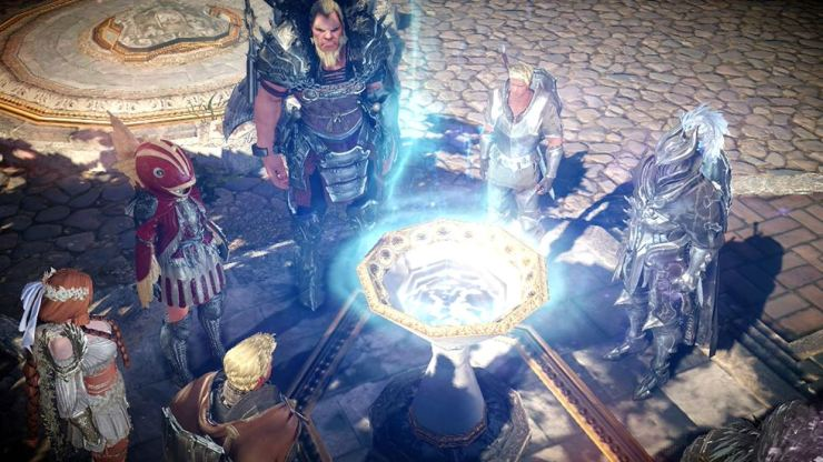 Seen is a captured image of Pearl Abyss' mobile game 'Black Desert Mobile.' / Courtesy of Pearl Abyss