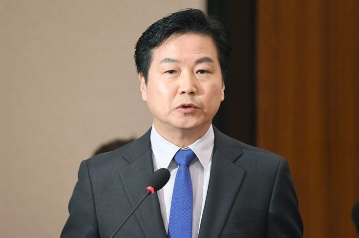 Minister of SMEs and Startups Hong Jong-haak
