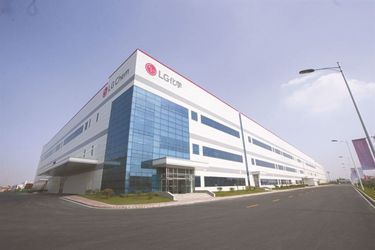 Seen is LG Chem's battery plant in Nanjing, China. / Courtesy of LG Chem