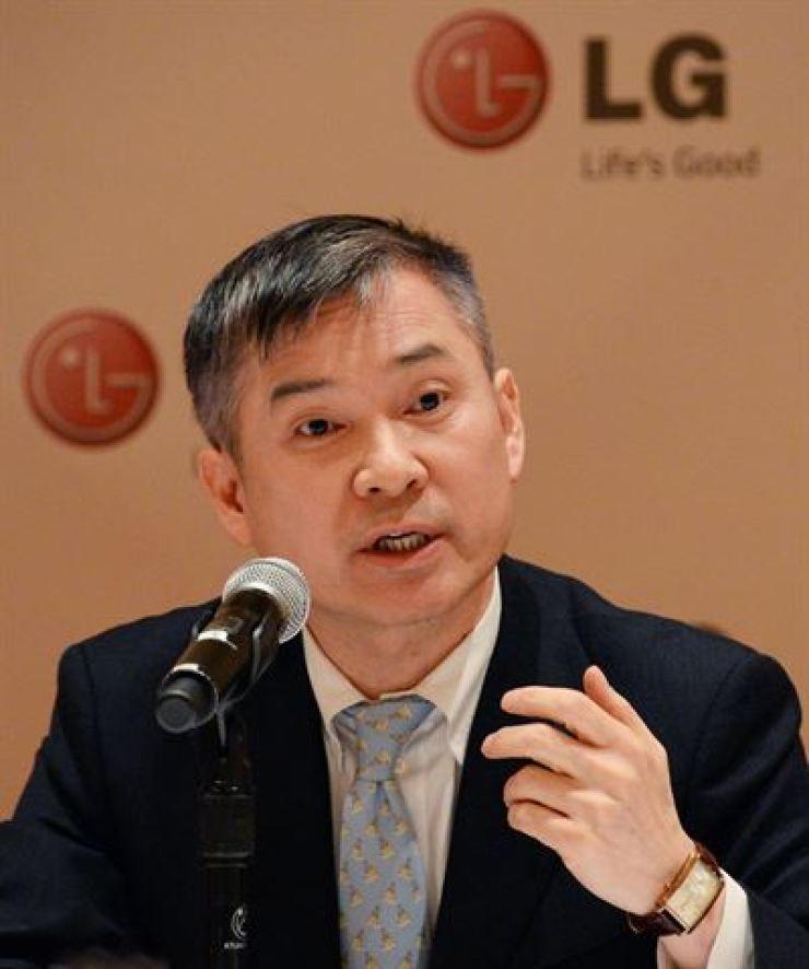 LG Uplus CEO Ha Hyun-hwoi