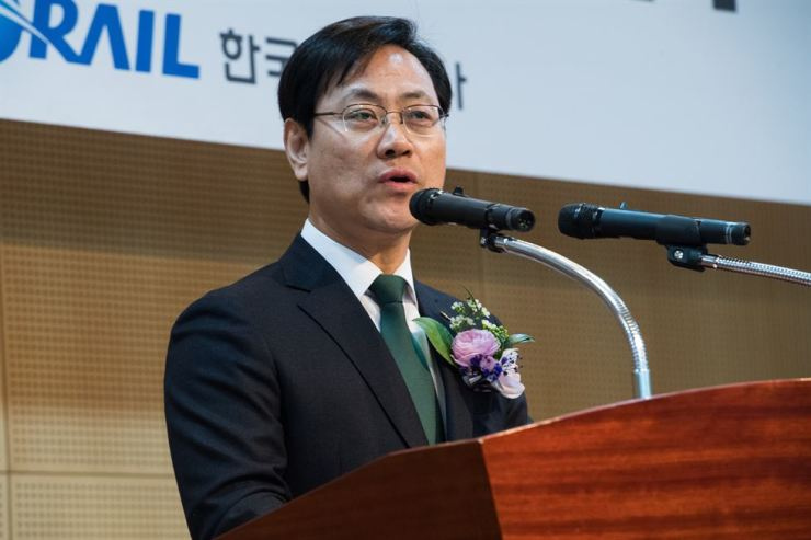 Korail CEO Oh Young-sik