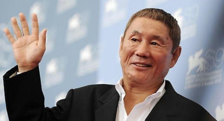 Controversial Japanese filmmaker Kitano Takeshi. Yonhap