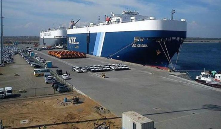 Hambantota port. Reuters