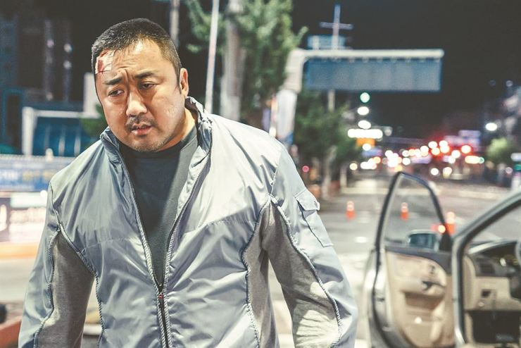 Actor Ma Dong-seok stars in the upcoming thriller 'The Villagers.' / Courtesy of Little Big Pictures