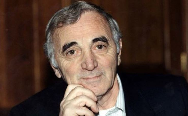 French singer Charles Aznavour dies at age of 94. Yonhap