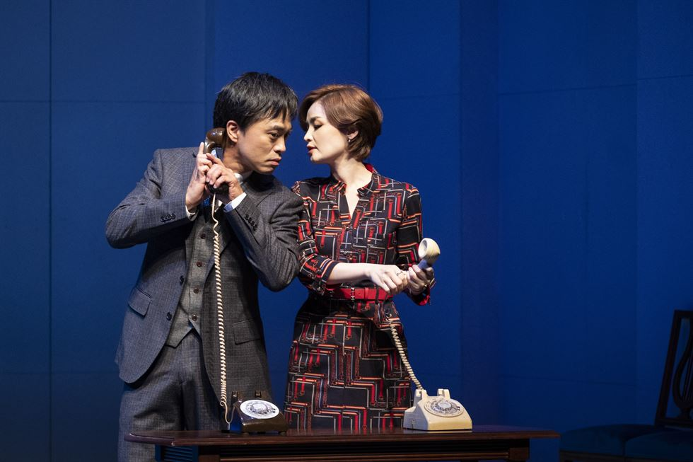 A scene from the play 'Oslo,' directed by Lee Sung-yol / Courtesy of National Theater Company of Korea