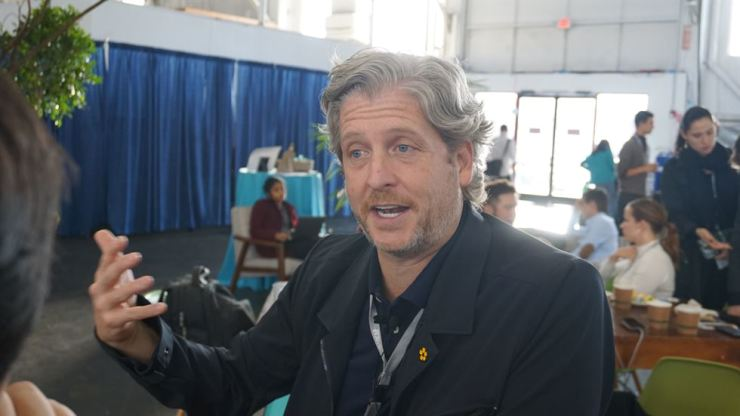Bob Caruso, the former head of Select Equity Group running tens of billions of dollars in investment, operates a for-profit firm that manages, among other things, SOCAP, which is comparable to nonprofit Davos bereft of all glamour trappings. In his interview with The Korea Times on the sidelines of SOCAP 2018 in San Francisco, Oct. 23 to 26, Caruso said he felt as excited working his current job as in running the hedge fund. Korea Times photo by Oh Young-jin
