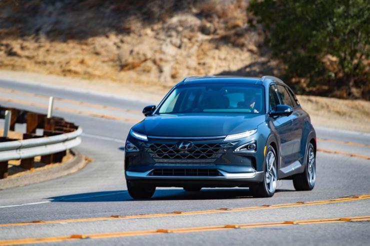 Hyundai Motor's Nexo fuel-cell electric vehicle