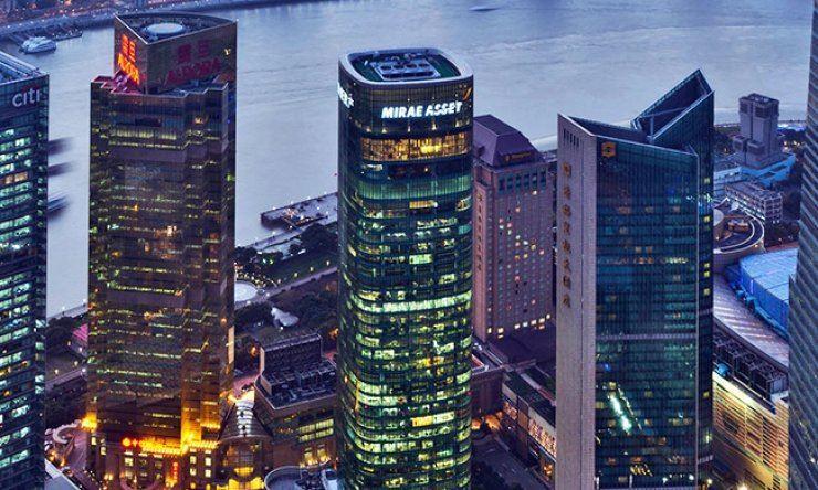 Mirae Asset Tower in Shanghai / Korea Times file
