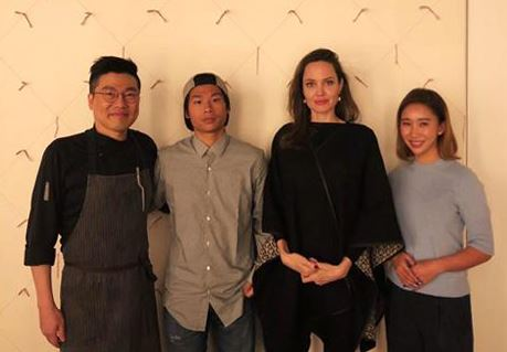 Hollywood actress Angelina Jolie visited Korea with her two sons during Nov. 2-4 as a special envoy of United Nations High Commissioner of Refugees (UNHCR.) The Korea Times has collected the photos of the actress during her stay. Capture from Facebook of Angelina Jolie / Angie