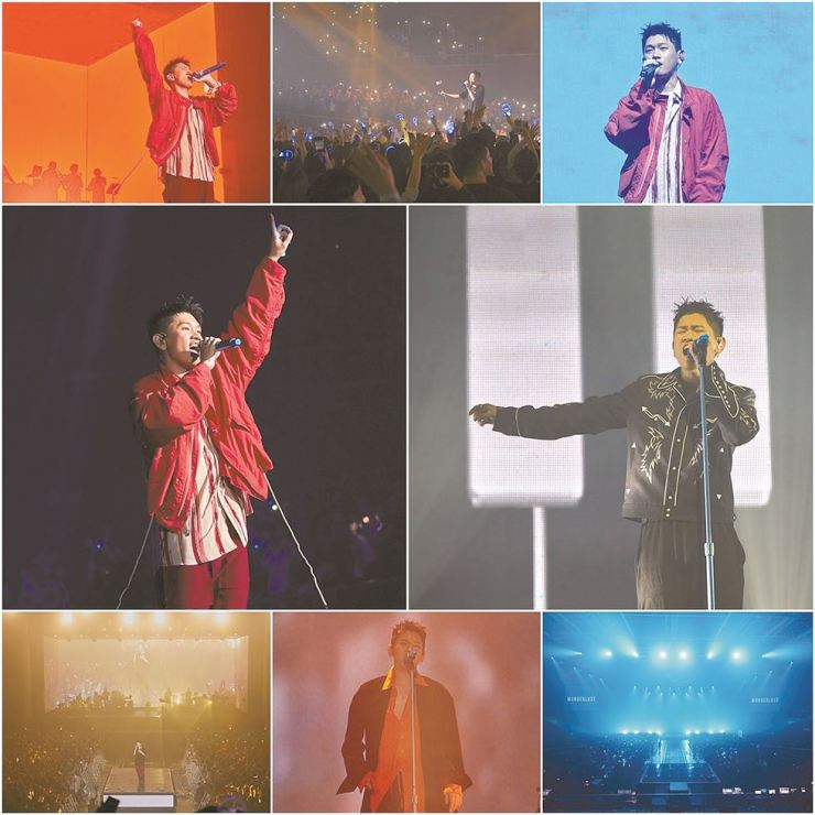 R&B singer Crush opens his two-night concert series at Olympic Hall in Seoul, Saturday. Courtesy of Amoeba Culture