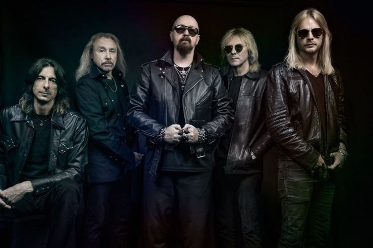 British heavy metal band Judas Priest will perform at Blue Square in Seoul on Dec. 1 to promote their latest album 'Firepower.' Courtesy of Live Nation Korea
