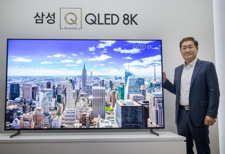 Samsung rolling out premium QLED 8K TV