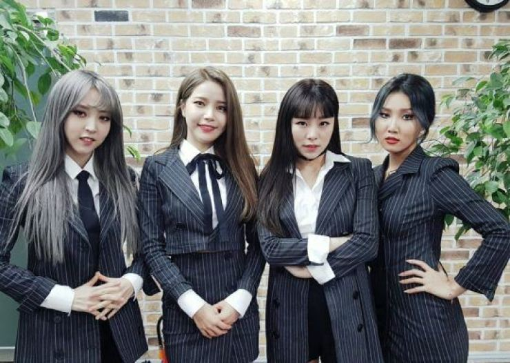 MAMAMOO is being exploited, fans claim. Courtesy of RBW