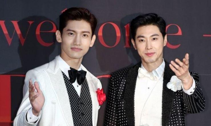 K-pop duo TVXQ