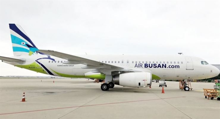 An Air Busan aircraft / Yonhap