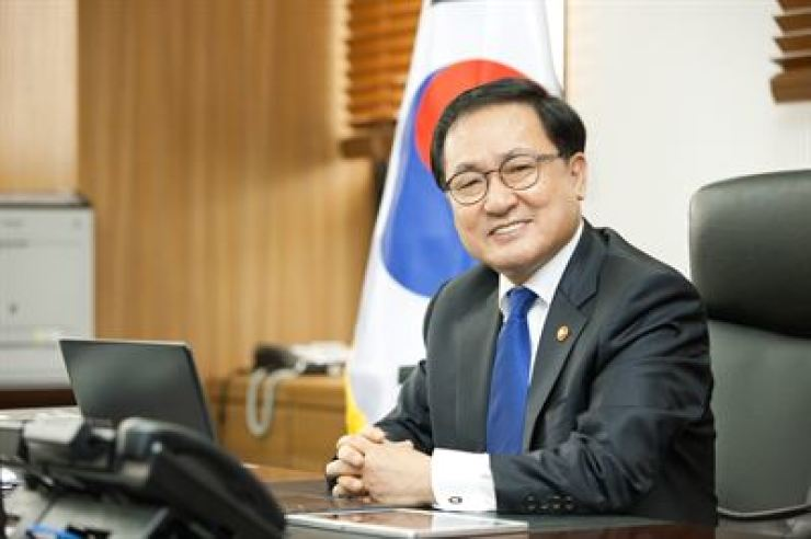 ICT Minister Yoo Young-min