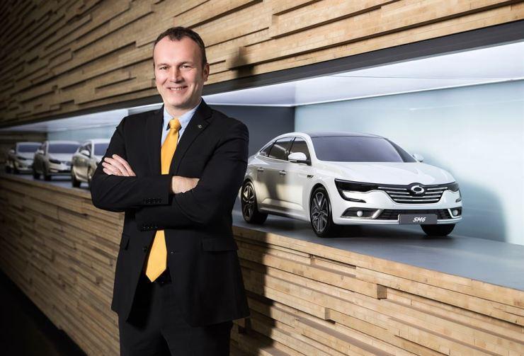 Renault Samsung Motors CEO Dominique Signora / Courtesy of Renault Samsung Motors