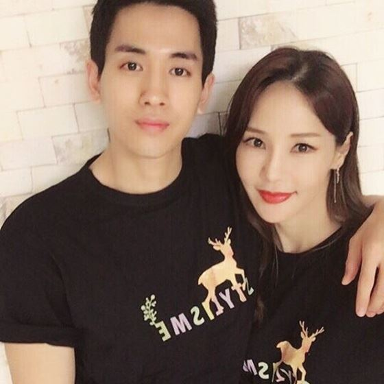 Music video and film director Lee Sa-gan and idol singer Ron will marry in January. Capture from Instagram of Lee and Ron