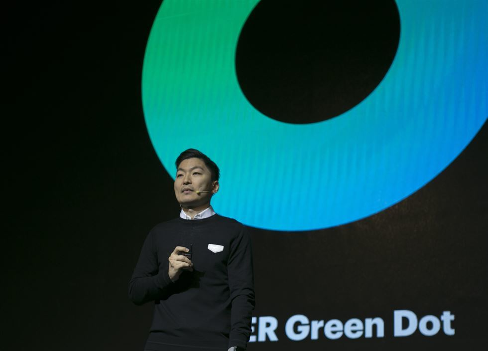 naver to use 39 green dot 39 as new mobile identity. Black Bedroom Furniture Sets. Home Design Ideas
