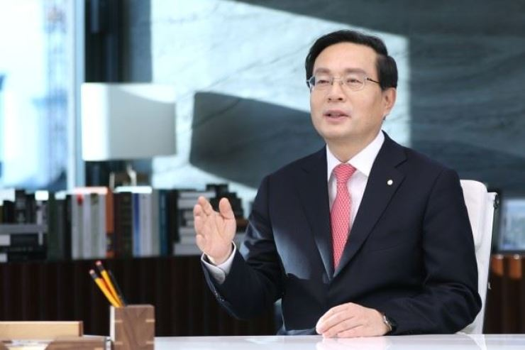 Woori Bank CEO Sohn Tae-seung / Courtesy of Woori Bank
