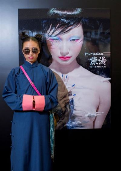Chen Man's photography career took off in 2003 with high-profile covers for Chinese fashion magazine Vision while she was still studying her bachelor's degree at the Central Academy of Fine Arts in Beijing. Photos from the South China Morning Post