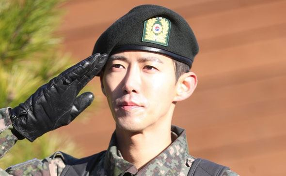 Kwanghee: 'Thank you for coming to see me despite freezing weather.' Yonhap