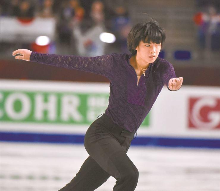 Cha Jun-hwan performs in the Men's Free program at the ISU Grand Prix of Figure Skating Final 2018-19 in Vancouver, Canada,  last Friday. AFP-Yonhap