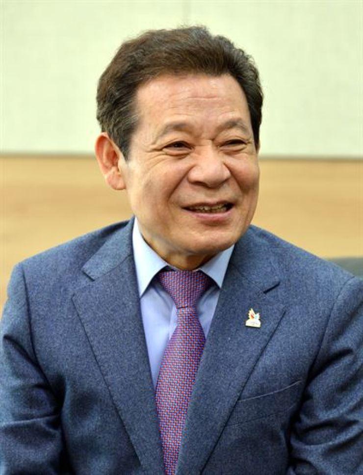 Former Gwangju Mayor Yoon Jang-hyun