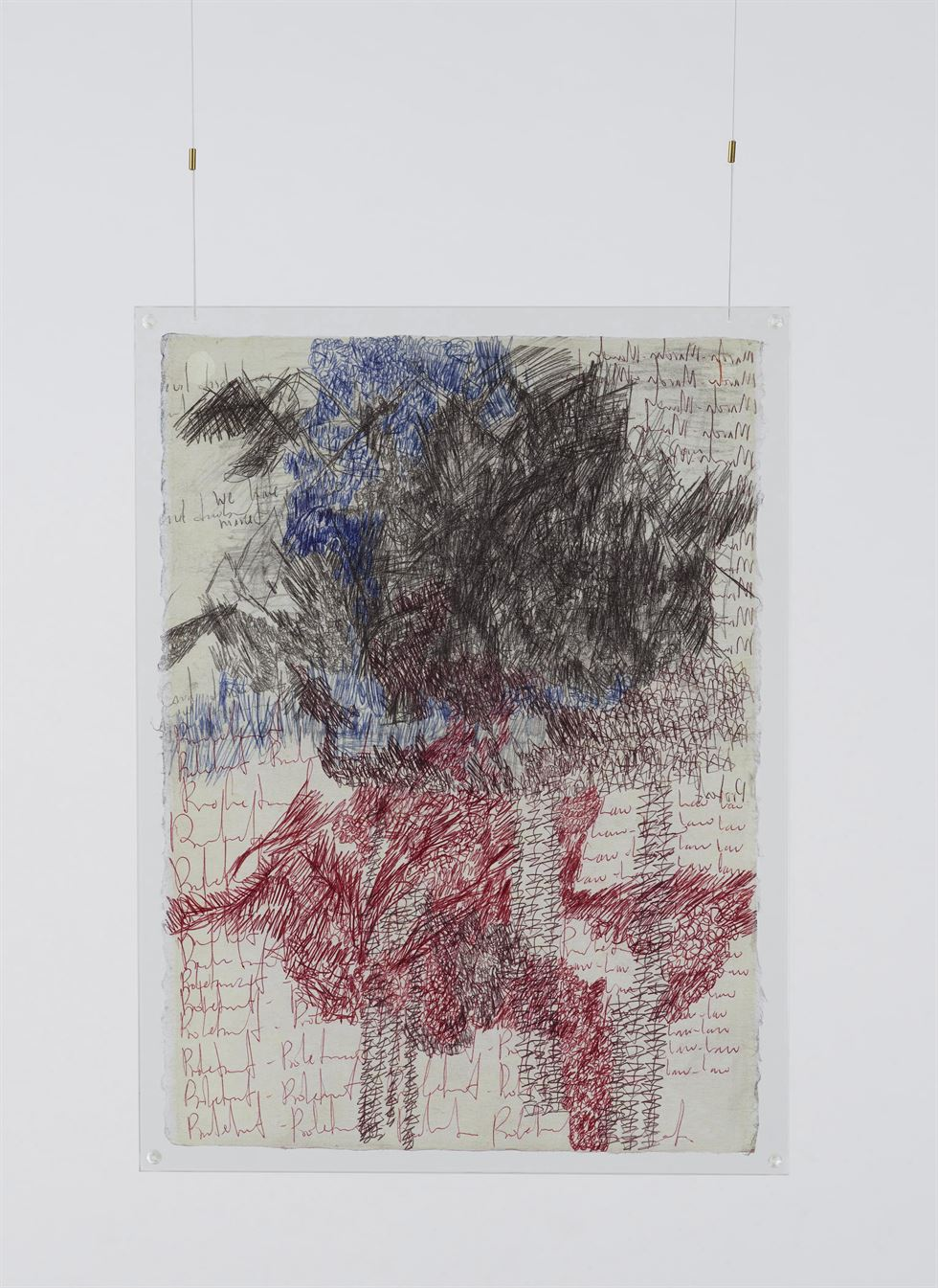 Oscar Murillo's 'Pulsating Frequencies' is on view at Kukje Gallery in Seoul / Courtesy of the artist and Kukje Gallery
