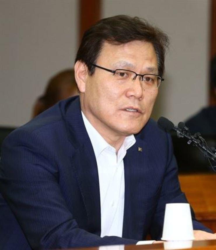 Financial Services Commission Chairman Choi Jong-ku