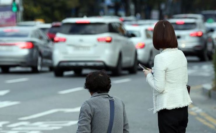 Women-only taxi services will begin within this year. Yonhap