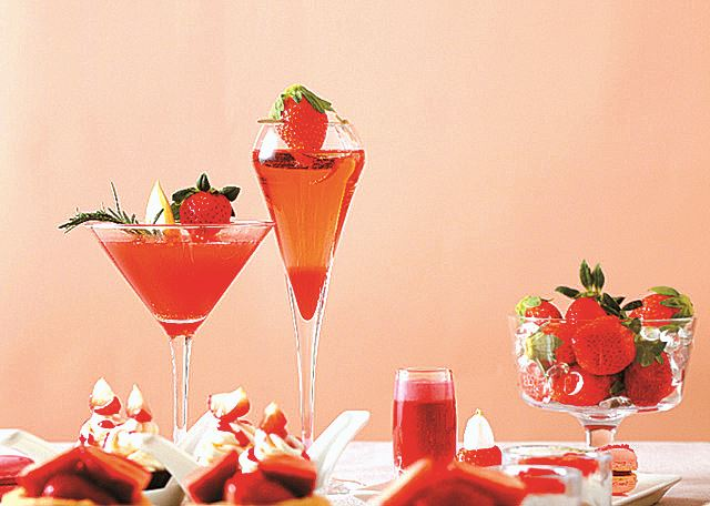 The Grand Walkerhill Seoul's Very Berry Strawberry
