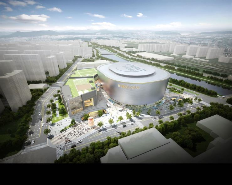 The rendering image of Seoul Arena / Courtesy of Seoul Metropolitan Government