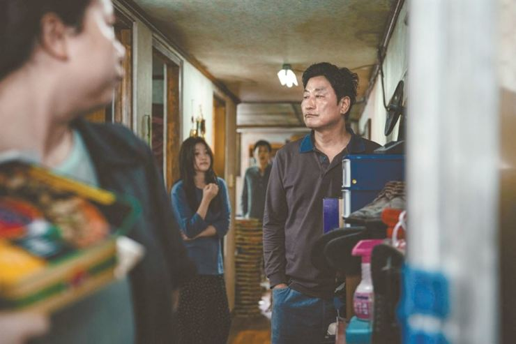 Actor Song Kang-ho is seen in Bong Joon-ho's new film 'Parasite.' / Courtesy of CJ Entertainment