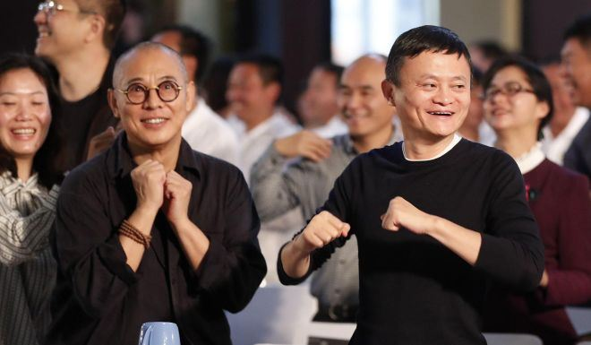 Jet Li, who looked frail in a visit to Chengdu in summer 2017, appeared in much better health during an appearance at Jack Ma's 2019 Rural Teacher awards in Sanya. Photos from the South China Morning Post