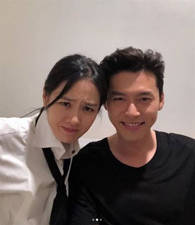 Son Ye-jin and Hyun Bin are rumored to be dating. Capture from Son Ye-jin's Instagram
