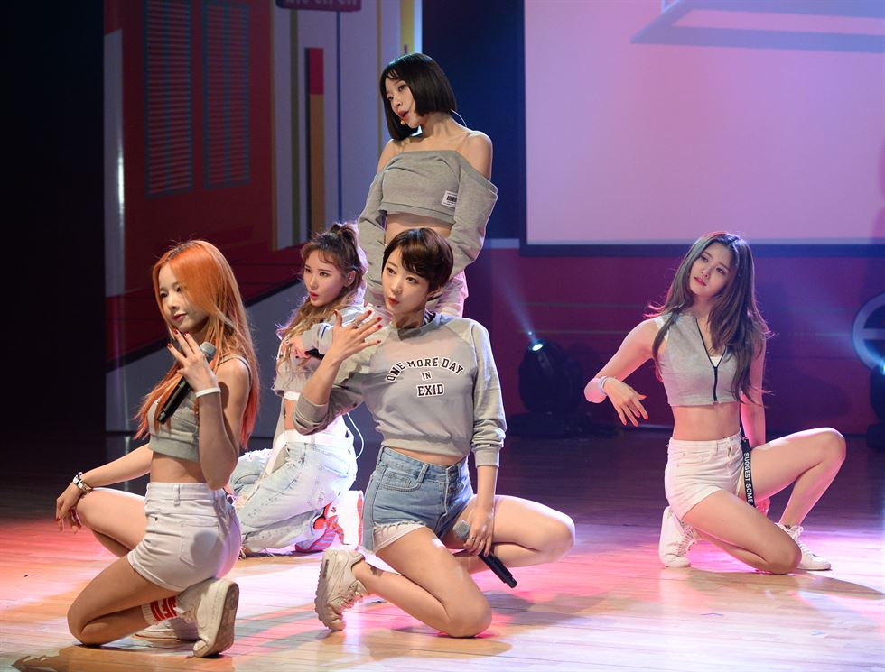 Will EXID stick with Banana Culture?