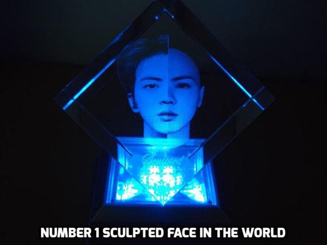 BTS member Jin has world's 'best-sculpted' face
