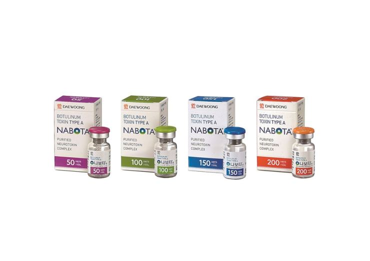 Daewoong Pharmaceutical's botulinum toxin product, called Nabota, waits for FDA approval. / Courtesy of Daewoong Pharmaceutical