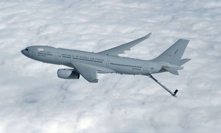 Seen above is the KC-330 refueling tanker. / Courtesy of Ministry of National Defense