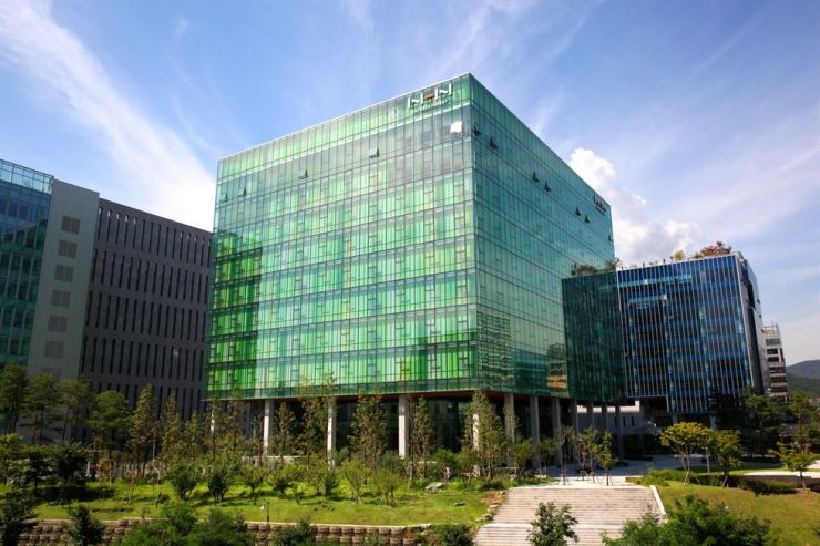 NHN Entertainment's building in Pangyo, Gyeonggi Province / Courtesy of NHN Entertainment