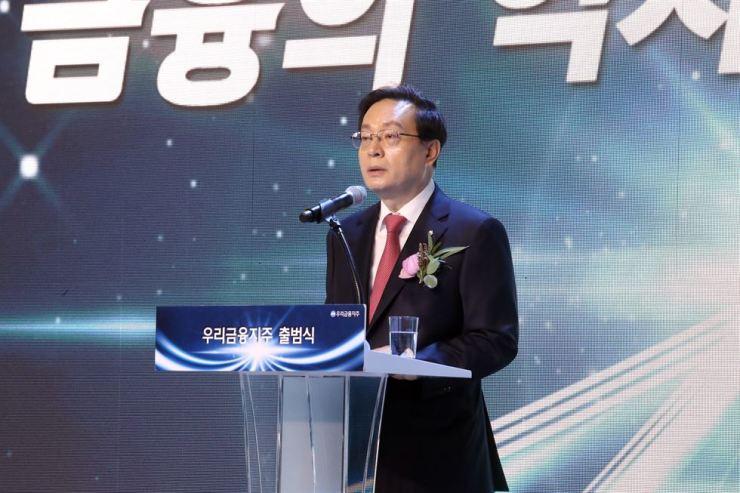 Woori Financial Chairman Sohn Tae-seung