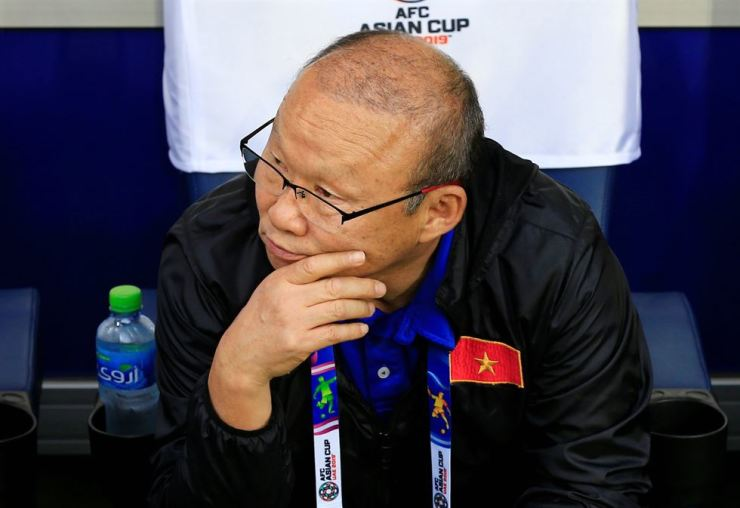 Vietnam coach Park Hang-seo before the match Reuters-Yonhap